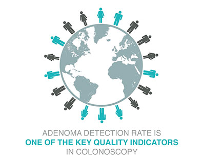 ADENOMA DETECTION RATE IS ONE OF THE KEY QUALITY INDICATORS IN COONOSCOPY